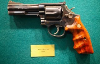 Smith and Wesson gun